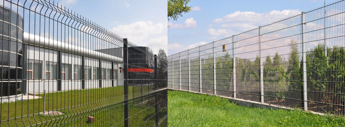 Mesh fence production