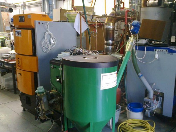 Boiler tests on University of Technology in Poznan