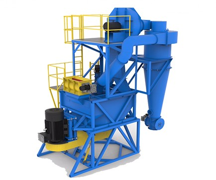 Micro-reduction mill for biomass and waste